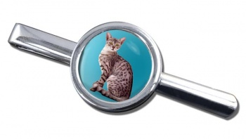 Egyptian Mau Cat Tie Clip