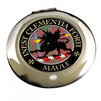 Maule Scottish Clan Chrome Mirror