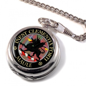 Maule Scottish Clan Pocket Watch