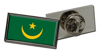 Mauritania Flag Pin Badge
