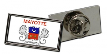 Mayotte Flag Pin Badge