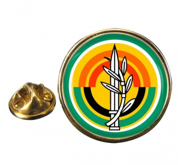 MAZI (IDF) Round Pin Badge