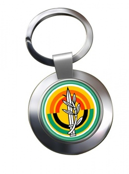 MAZI (IDF) Chrome Key Ring