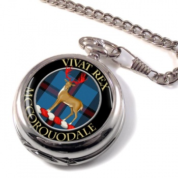 McCorquodale Scottish Clan Pocket Watch