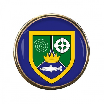 County Meath (Ireland) Round Pin Badge