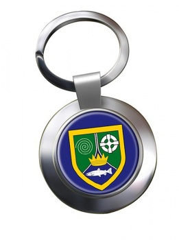 County Meath (Ireland) Metal Key Ring