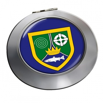 County Meath (Ireland) Round Mirror