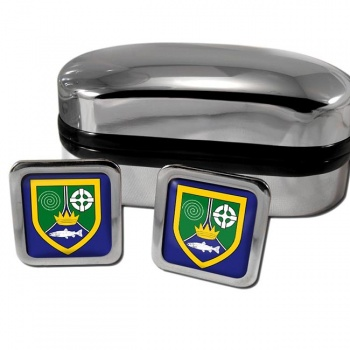 County Meath Ireland Square Cufflinks