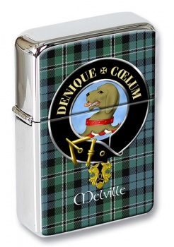 Melville Scottish Clan Flip Top Lighter
