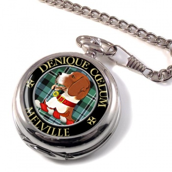 Melville Scottish Clan Pocket Watch