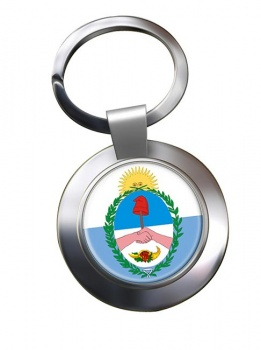 Argentine Mendoza Province Metal Key Ring