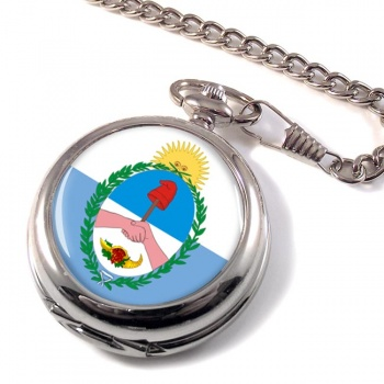 Argentine Mendoza Province Pocket Watch