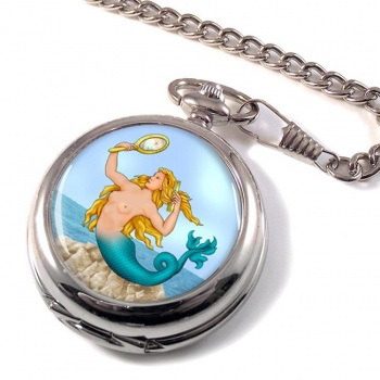Mermaid Pocket Watch