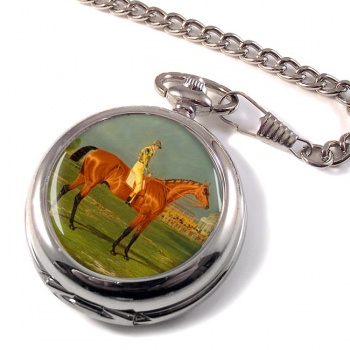 Racehorse Menmon with William Scott up Pocket Watch