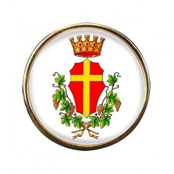 Messina (Italy) Round Pin Badge