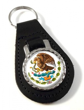Mexico Leather Key Fob