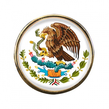 Mexico Round Pin Badge
