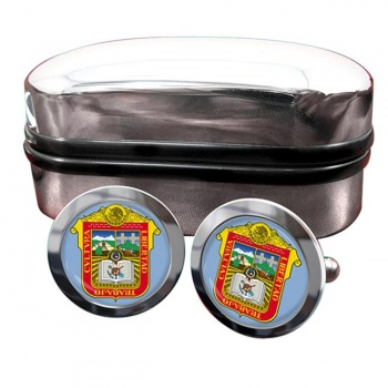 Estado de Mexico Crest Cufflinks