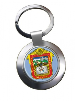 Estado de Mexico Metal Key Ring