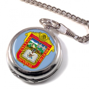 Estado de Mexico Pocket Watch