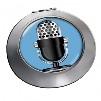 Microphone Chrome Mirror