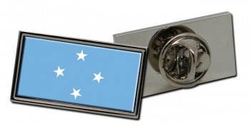 Federated States of Micronesia Flag Pin Badge