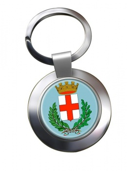 Milano (Italy) Metal Key Ring