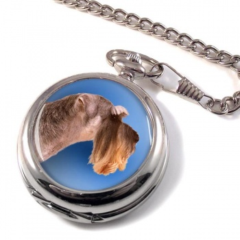 Miniature Schnauzer Pocket Watch
