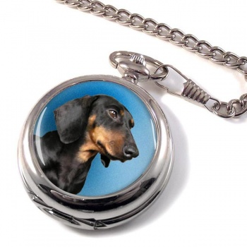 Miniature Dachshund (Teckel) Pocket Watch