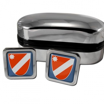 Molise Italy Square Cufflinks