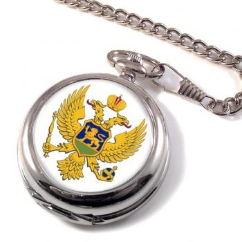 Montenegro Crna Gora Pocket Watch