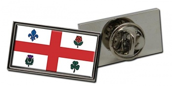 Montreal (Canada) Flag Pin Badge