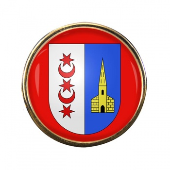 Montreux (Switzerland) Round Pin Badge