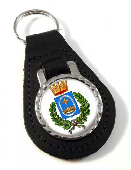 Monza (Italy) Leather Key Fob