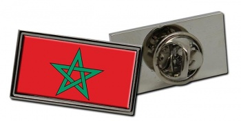 Morocco  Flag Pin Badge
