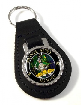 Mouat Scottish Clan Leather Key Fob
