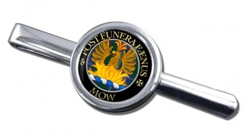Mow Scottish Clan Round Tie Clip