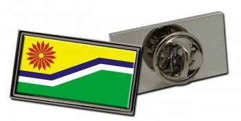Mpumalanga (South Africa) Flag Pin Badge