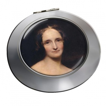 Mary Shelley Chrome Mirror