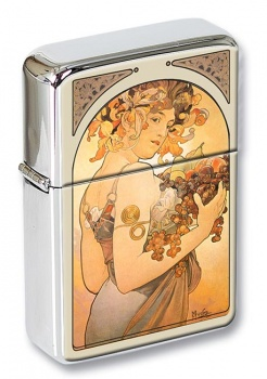 Fruit by Mucha Flip Top Lighter