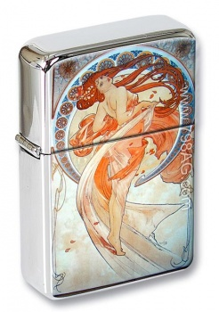 La Danse by Mucha Flip Top Lighter