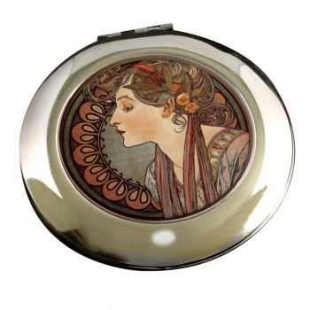 Vitrail a l'email by Mucha Flip Top Lighter