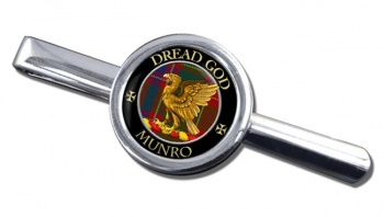 Munro Scottish Clan Round Tie Clip