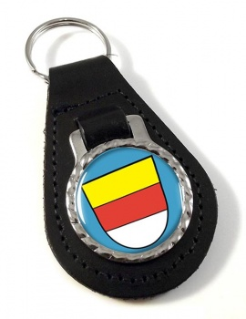 Munster (Germany) Leather Key Fob