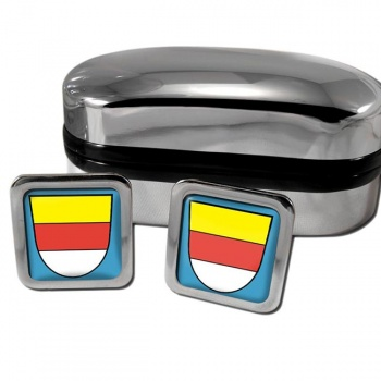 Munster Germany Square Cufflinks