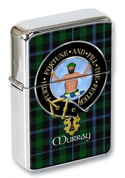 Murray (Savage) Scottish Clan Flip Top Lighter