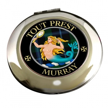 Murray (mermaid) Scottish Clan Chrome Mirror
