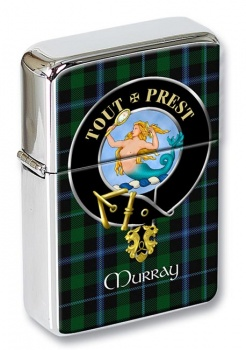 Murray (mermaid) Scottish Clan Flip Top Lighter