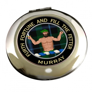 Murray (Savage) Scottish Clan Chrome Mirror