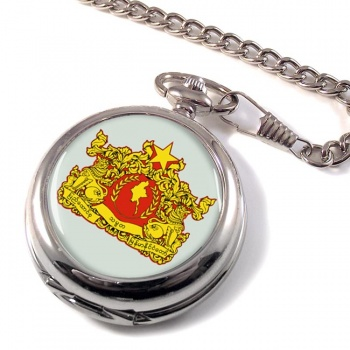 Burma Myanmar Pocket Watch
